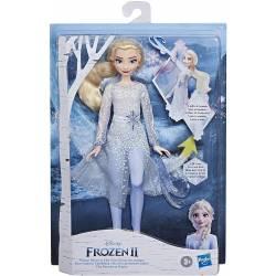 Poupée Interactive La Reine des Neiges 2 Elsa Découverte Magique
