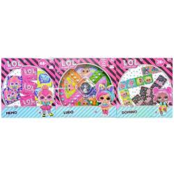 Box of 3 LOL Surprise Board Games