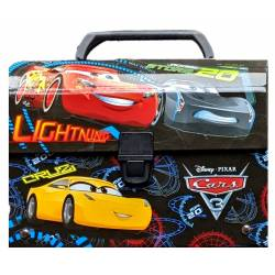 Cars cardboard case 25 cm