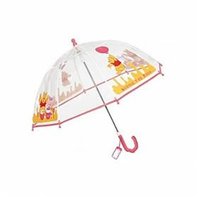 Parapluie Winnie l'Ourson Transparent rose