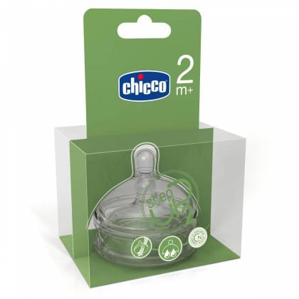 Chicco 2 Tétines Step Up 2 Flux - 2 m+