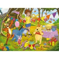 Clementoni - Puzzle 100 pièces - Winnie l'ourson - Happy Birthday
