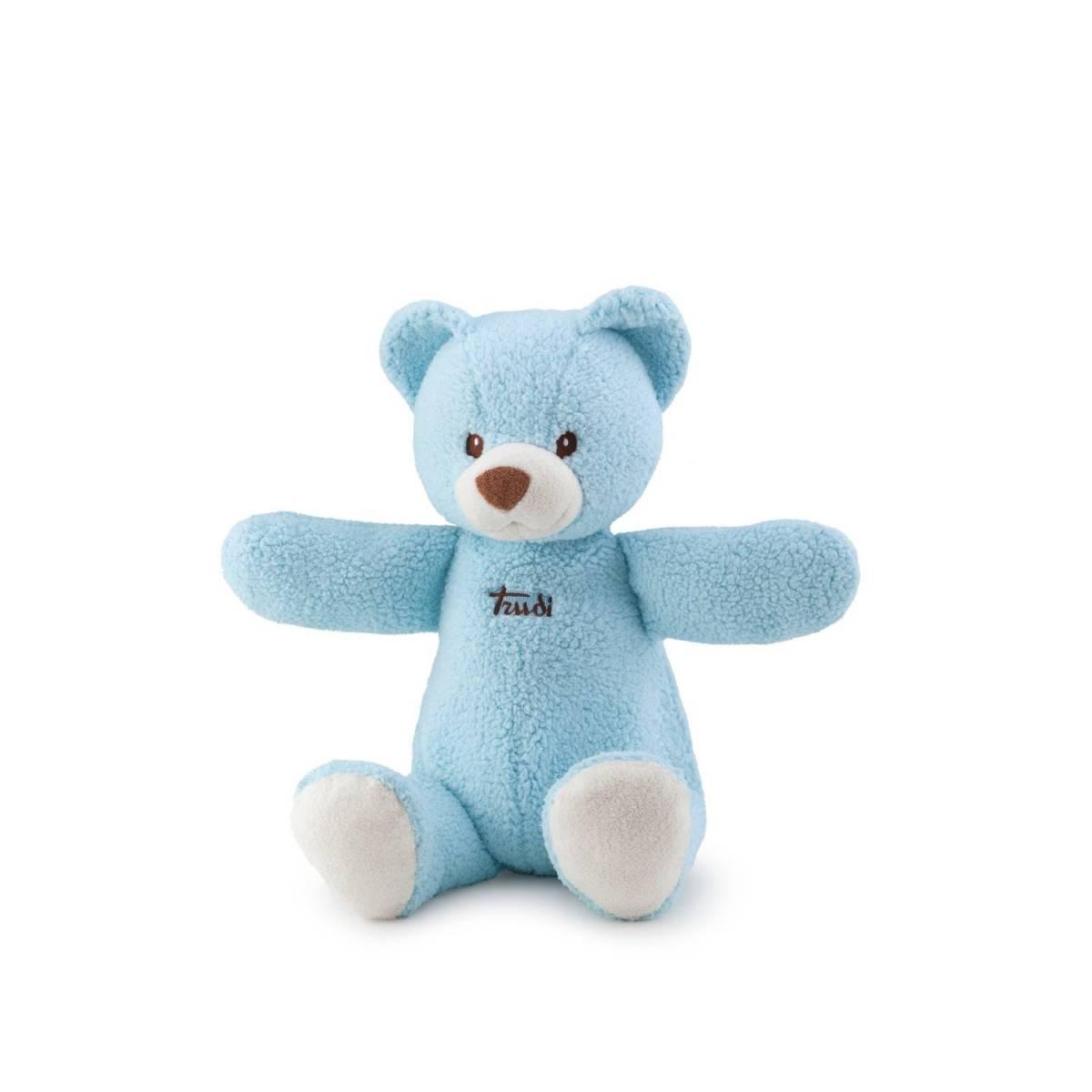 Trudi - 25987 - Peluche - Porte-Pyjama - Cremino Ourson - Bleu