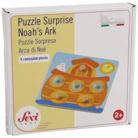 Puzzle en bois Surprise Arche de Noé