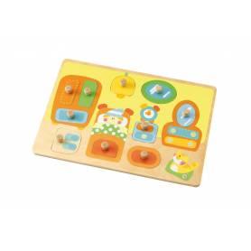 Sevi - Puzzle en bois Surprise - Chambre Enfant