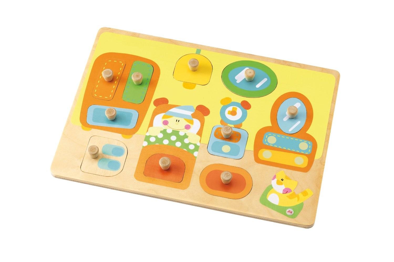 sevi trudi jouet puzzle en bois surprise chambre enfant. Black Bedroom Furniture Sets. Home Design Ideas