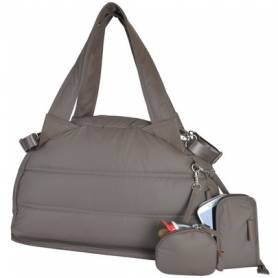 Baby on Board - Sac a Langer Mon Doudoune Bag Taupe