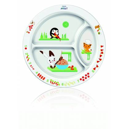 Philips AVENT Assiette à compartiment 12m+