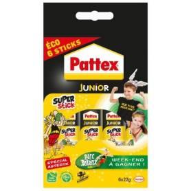 Pattex Super stick Tube de colle Transparent - Super stick 22g - lot de 6