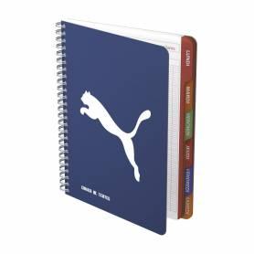 Cahier de textes PUMA - Panthere bleu