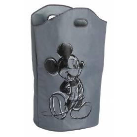 Panier à linge Mickey Mouse - gris- 35 x 68 cm