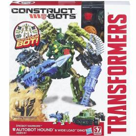 Transformers Construct Bots Warriors Hound & Wide Load