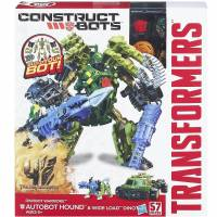 Transformers Construct Bots Warriors Hound & Wide Load - 57 PIECES
