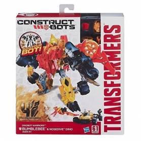 Transformers - Dinobot Warriors / Optimus Prime & Gnaw Dino