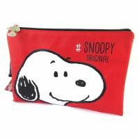 Snoopy - Pochette trousse plate Snoopy Original rouge