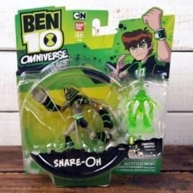 Ben10 - Figurine Snare-Oh + mini-figurine bonus