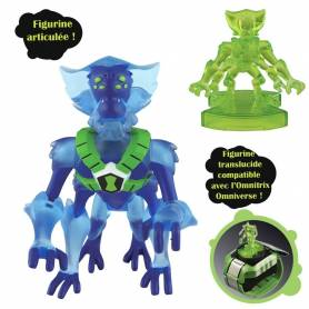 Ben10 - Figurine à action mécanique - Crahhopper