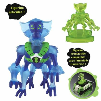 Ben10 - Figurine Spidermonkey + mini-figurine bonus