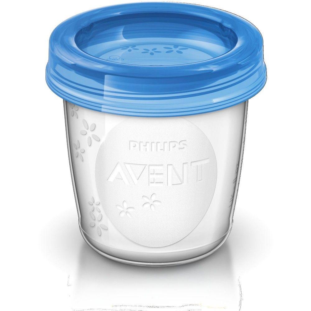 philips avent 10 pots de conservation pour lait maternel. Black Bedroom Furniture Sets. Home Design Ideas
