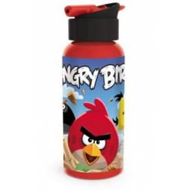 Angry Birds - Gourde alu avec paille ergonomique 400 ml