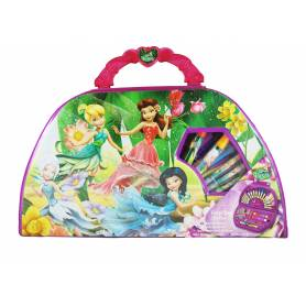 FAIRIES Coffret de coloriage DISNEY