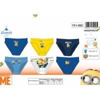 Les Minions 3 Slips Garçon - Multicolore - 4 à 10 ans