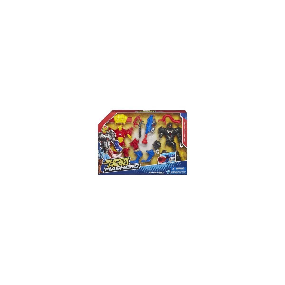 Hasbro - Marvel Super Hero Mashers - Iron Man vs Ultron