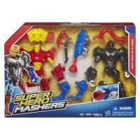 Hasbro - Marvel Super Hero Mashers - Iron Man vs Ultron