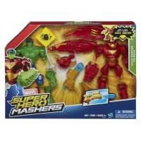 Marvel - Figurines Super Hero Mashers - Hulk vs Hulk Buster