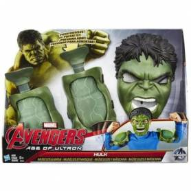 Hasbro - Avengers Age of Ultron- Hulk muscles et masque