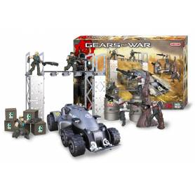 Meccano - Kit de construction Gears of War - Bataille Locusts vs Delta Squad