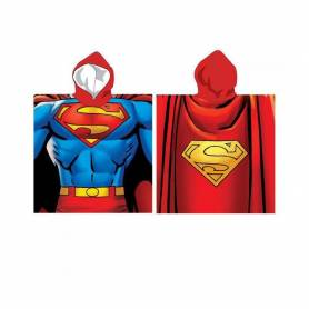 superman dc comics poncho de bain 110 cm. Black Bedroom Furniture Sets. Home Design Ideas
