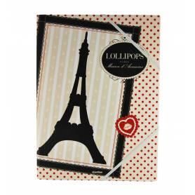 Lollipops Paris - A4 overhemd met flap - 24x32 cm