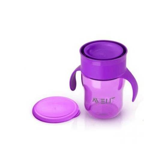 Philips AVENT - Tasse d'apprentissage 260 ml - violet