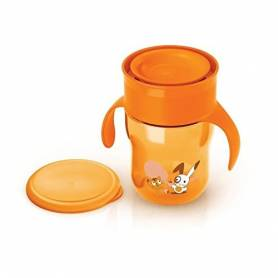 Philips AVENT - Tasse d'apprentissage 260 ml - orange