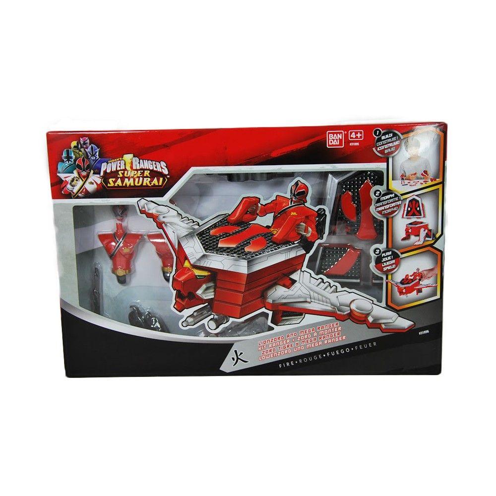 Power rangers super samurai figurine rouge lionzord - Jeux de power rangers super samurai ...