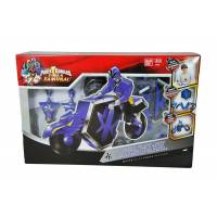 Power Rangers - Super Samurai - Figurine bleue + DragonZord