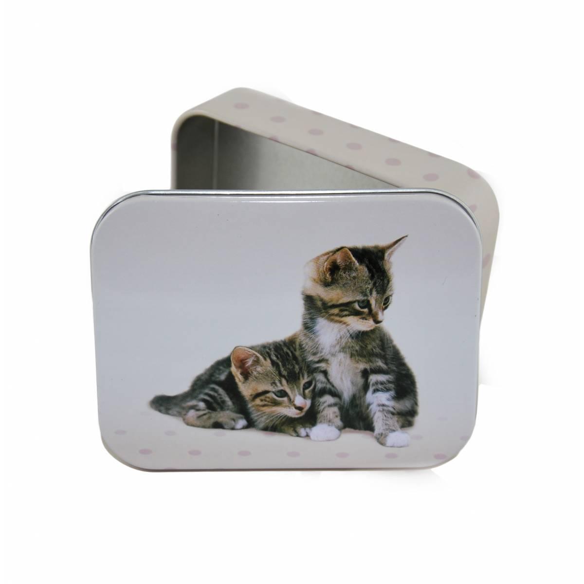 """Oberthur - Boite à bons points métallique """"chatons"""""""