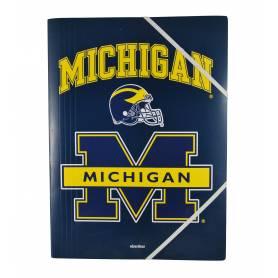 Michigan - Chemise à élastiques avec rabat A4 - 24x32 cm