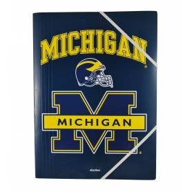 Michigan - Shirt with elastic bands with flap A4 - 24x32 cm