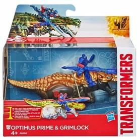 Transformers 4 - Optimus Prime and Grimlock - A6494