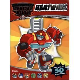 Transformers Heatwave - Libro di attività con personaggi staccabili