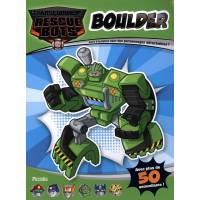 Transformers Boulder - Livre d'activités avec des personnages détachables