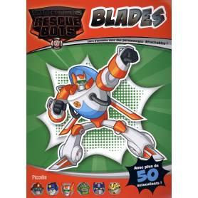 Blades - Livre d'activités avec des personnages détachables