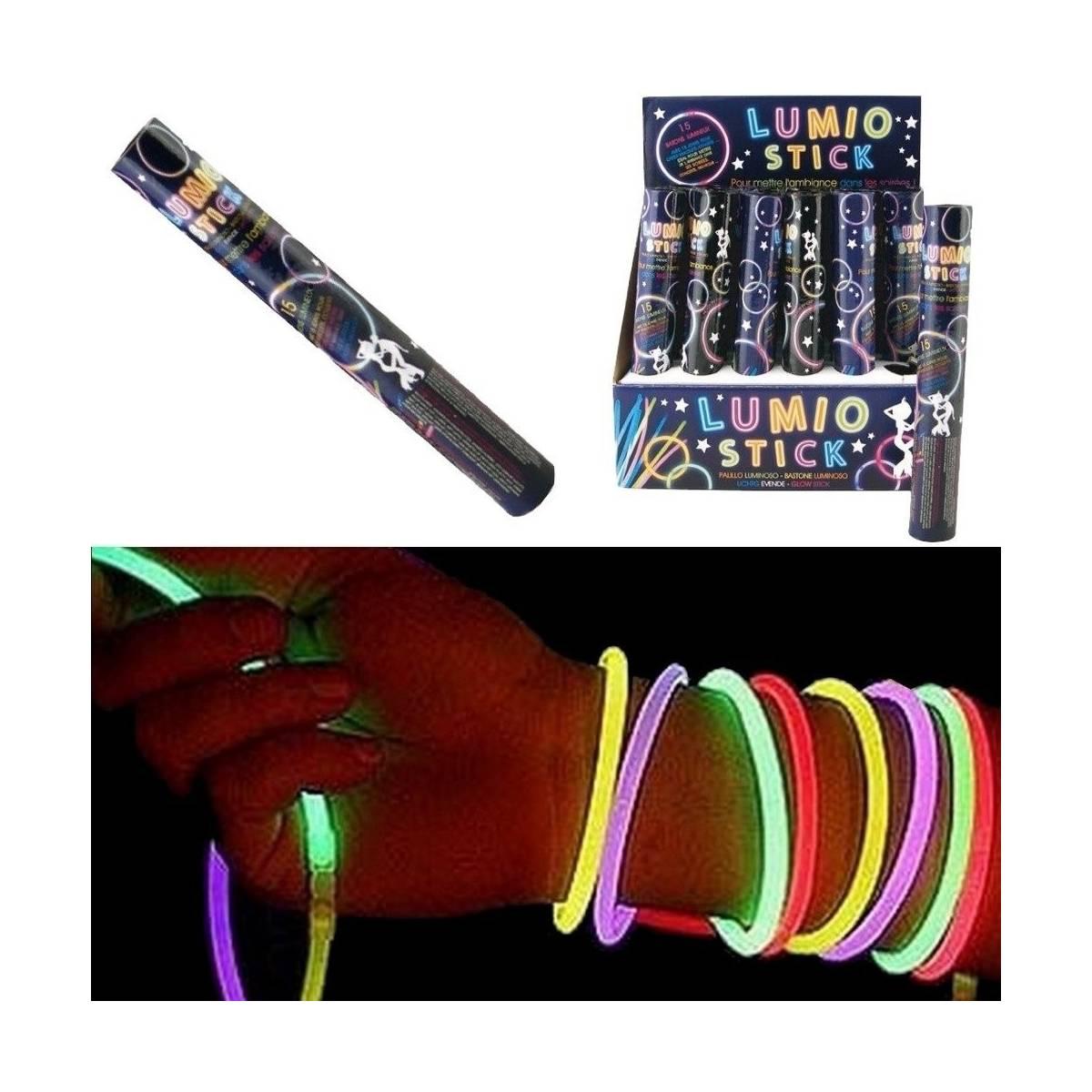 Lumino sticks - 15 Bâtons Lumineux pour Bracelets, Colliers.