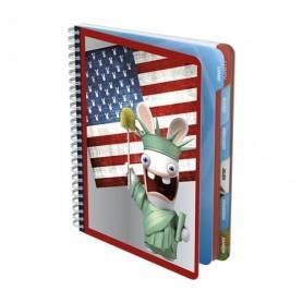 "Lapins Cretins : Cahier de textes ""America"""