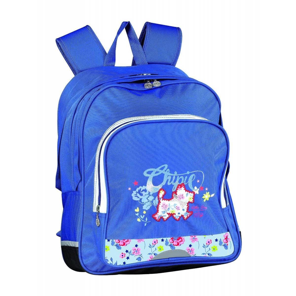 CHIPIE Liberty Sac à dos 2 compartiments - 41 cm - Bleu