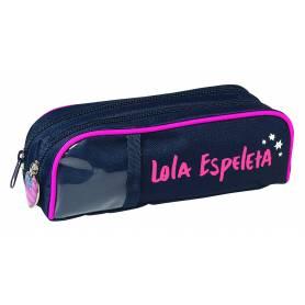 "Lola Espeleta - trousse 2 compartiments ""USA"""