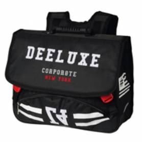 DEELUXE 74 Cartable - 2 Compartiments - 41 cm - Noir