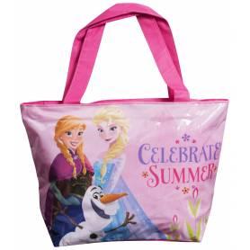 La reine des neiges - Sac Shopping, de plage avec Anna, Elsa et Olaf